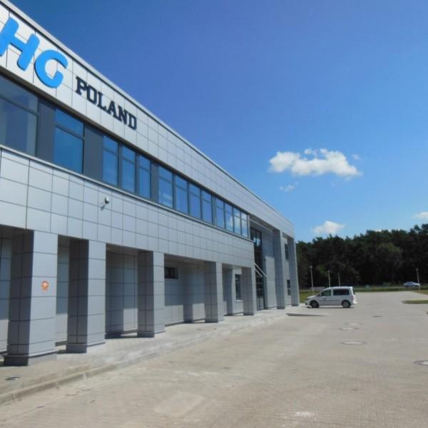 hala HG POLAND Sp. zo.o. Łozienica Goleniów