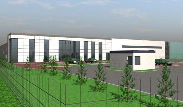 Stako CNG w Słupsku budowa zakładu branży przemysłowej  (wysokociśnieniowe zbiorniki kompozytowe) 2
