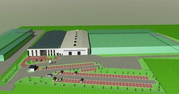 Stako CNG w Słupsku budowa zakładu branży przemysłowej  (wysokociśnieniowe zbiorniki kompozytowe)
