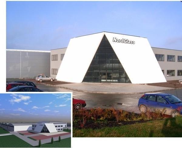 Fabryka szyb samochodowych NORDGLASS II w Koszalinie
