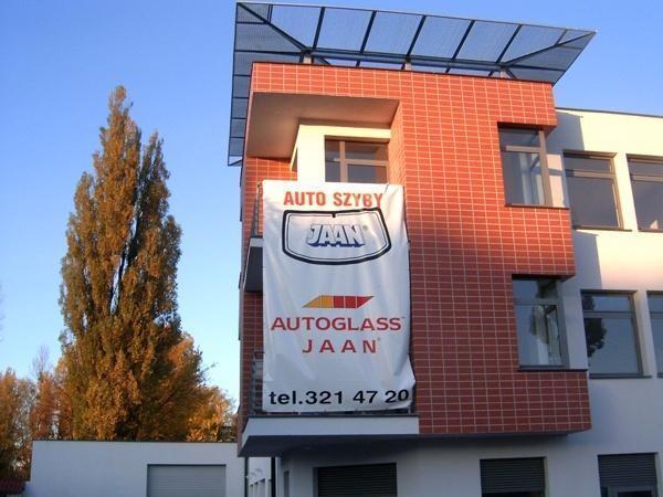 Budynek handlowo-usługowy firmy JAAN w Bydgoszczy