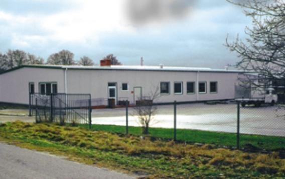 Szwalnia o powierzchni 800 m² z zapleczem socjalno-biurowym dla firmy KAJA w Karnieszewicach